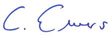 Signatur Christoph Ewers
